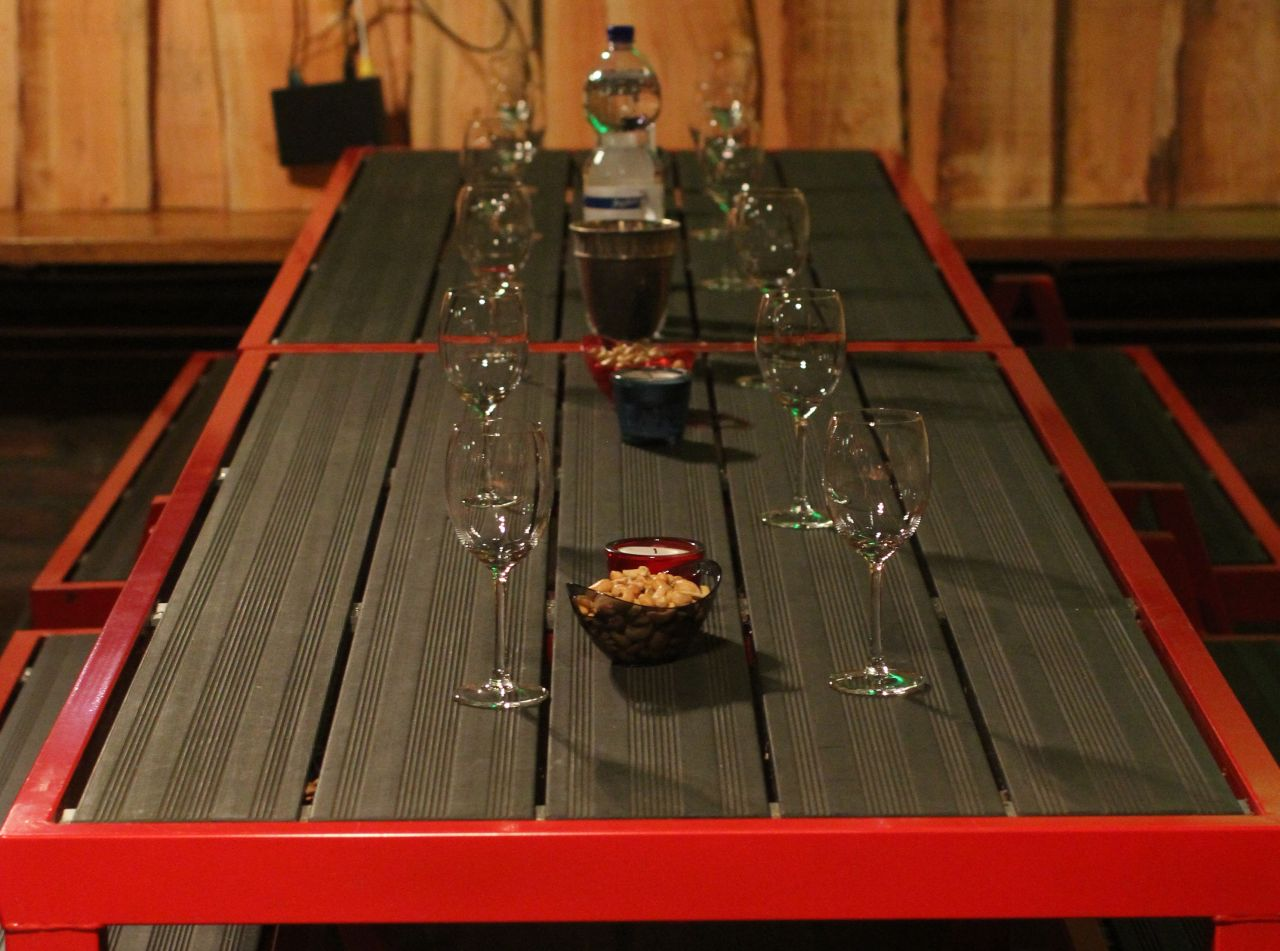 wijnproeven clubhuis